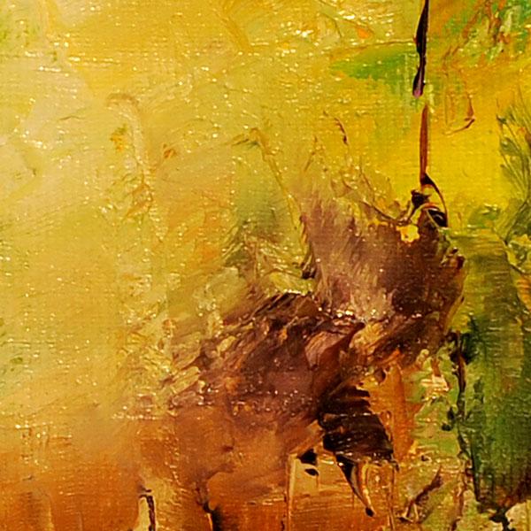 Sentiment de toamna- pictura in ulei